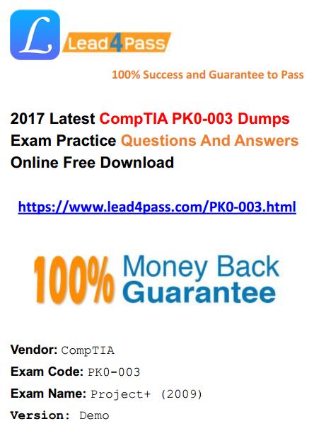PK0-003 dumps