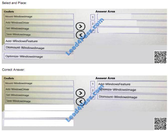 Microsoft MCSA 70-740 dumps - 70-740 Practice Test Questions