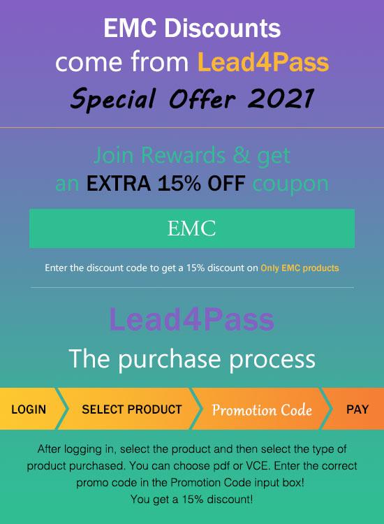EMC Coupon Code